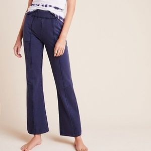 Anthropologie flare uber soft pull-on lounge pants